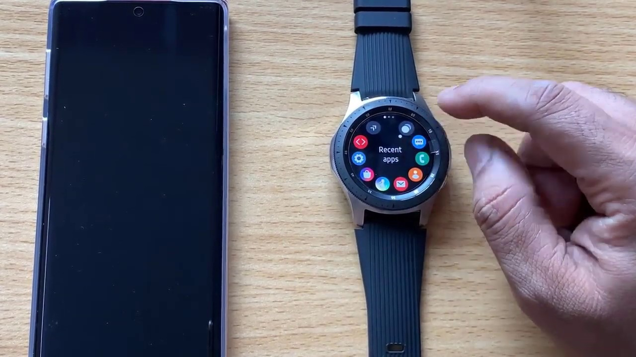 How To Close Recently Opened Apps In Samsung Galaxy Watch Youtube