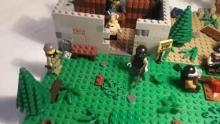 Лего самоделка #10 на тему S.T.A.L.K.E.R. (заброшка или база сталкеров)