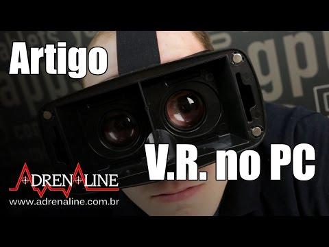 Jogando em realidade virtual no PC com baixo custo