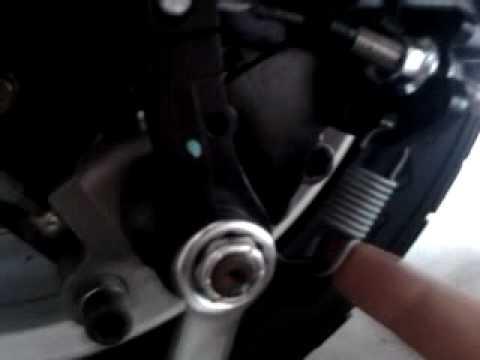 How to adjust the CanAm Spyder park brake