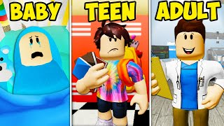 Going from Baby to Adult: A Growing Up Story (A Roblox Movie)