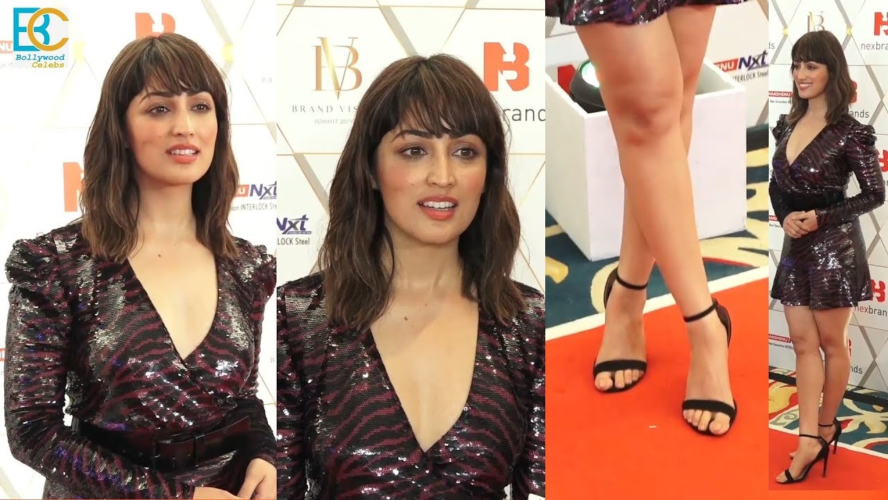 Yami Gautam Looks Hot At Nexbrands Brand Vision Summit & Awards 2020
