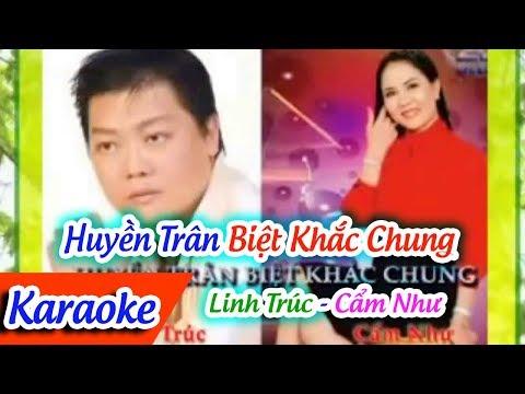 Trích Đoạn Huyền Trân Biệt Khắc Chung Karaoke | Karaoke Huyền Trân Biệt Khắc Chung | Bao Thai ft