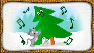В лесу родилась ёлочка - Новогодняя песенка - Для детей