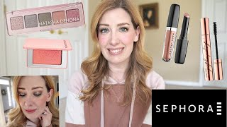 NEW NATASHA DENONA MINI RETRO & BLOOM BLUSH- SEPHORA HAUL & TRY-ON