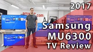 Samsung MU6300 LED 2017 TV Review - Rtings.com