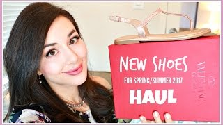 NEW SPRING/SUMMER 2017 SHOES HAUL & TRY-ON!
