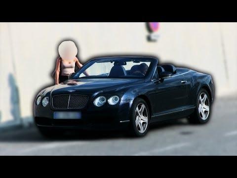 Piéger une michtonneuse avec une Bentley