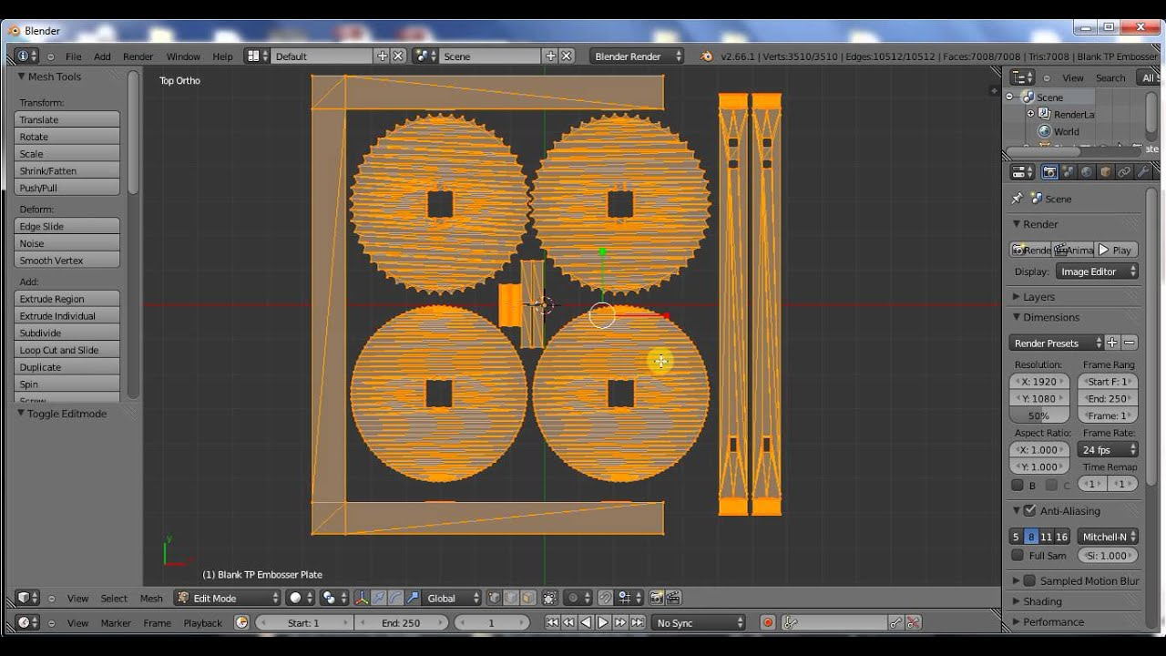 how to create object for 3d printing in blender