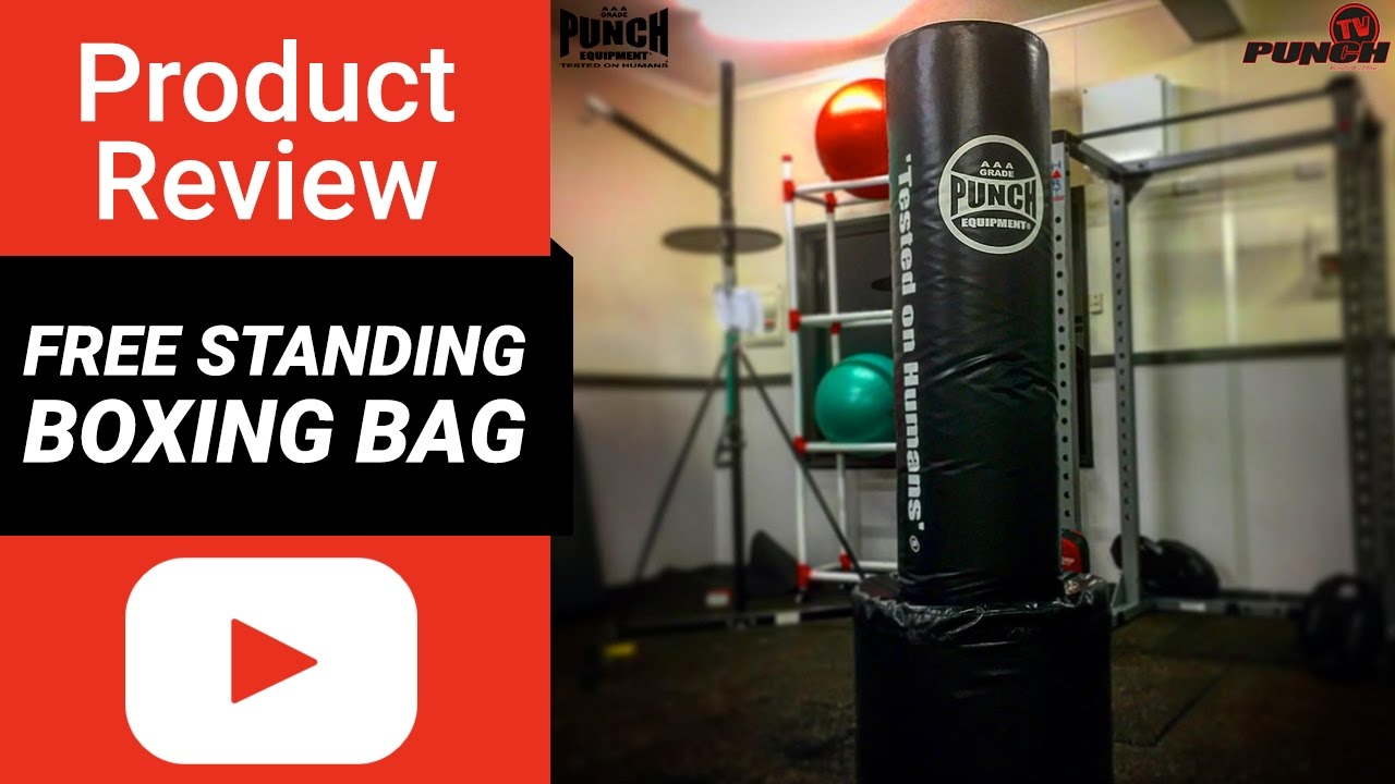 free standing boxing bag review punch equipment youtube