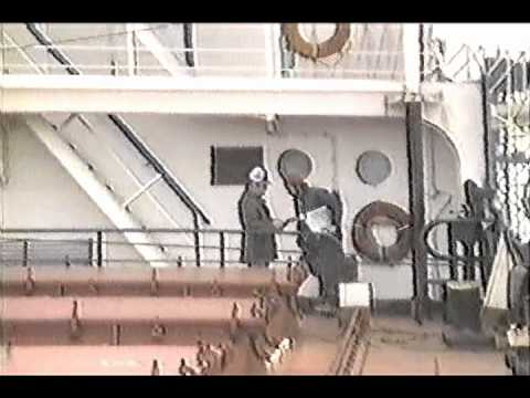 S.S. William Clay Ford - December 1984  - Capt. Donald Erickson & Crew