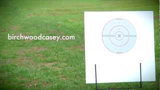 Shoot-N-C Black/White Targets from Birchwood Casey