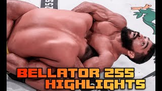 Bellator 255 Highlights Patricio Pitbull chokes out Emmanuel Sanchez