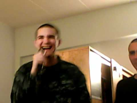 Seaman Recruit Singing YMCA on Band Hero