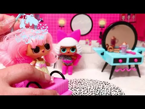 Pretend Play with New Furniture Sets for LOL Surprise Doll House ! Toys and Dolls for Kids | SWTAD