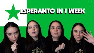 LEARNING ESPERANTO - LANGUAGE CHALLENGE🌍
