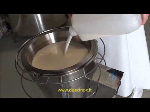 MINI HOME PASTEURIZER FOR CHEESE MAKING