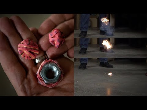 Testing Penny Flash-Bangs