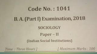 Sociology ba1st year video, Sociology ba1st year clips