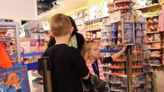 Disney World Trip Reveal at the Disney Store
