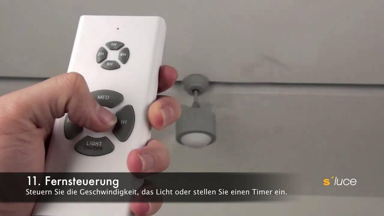 S Luce Blower Ventilator Mit Beleuchtung Und Fernbedienung Www