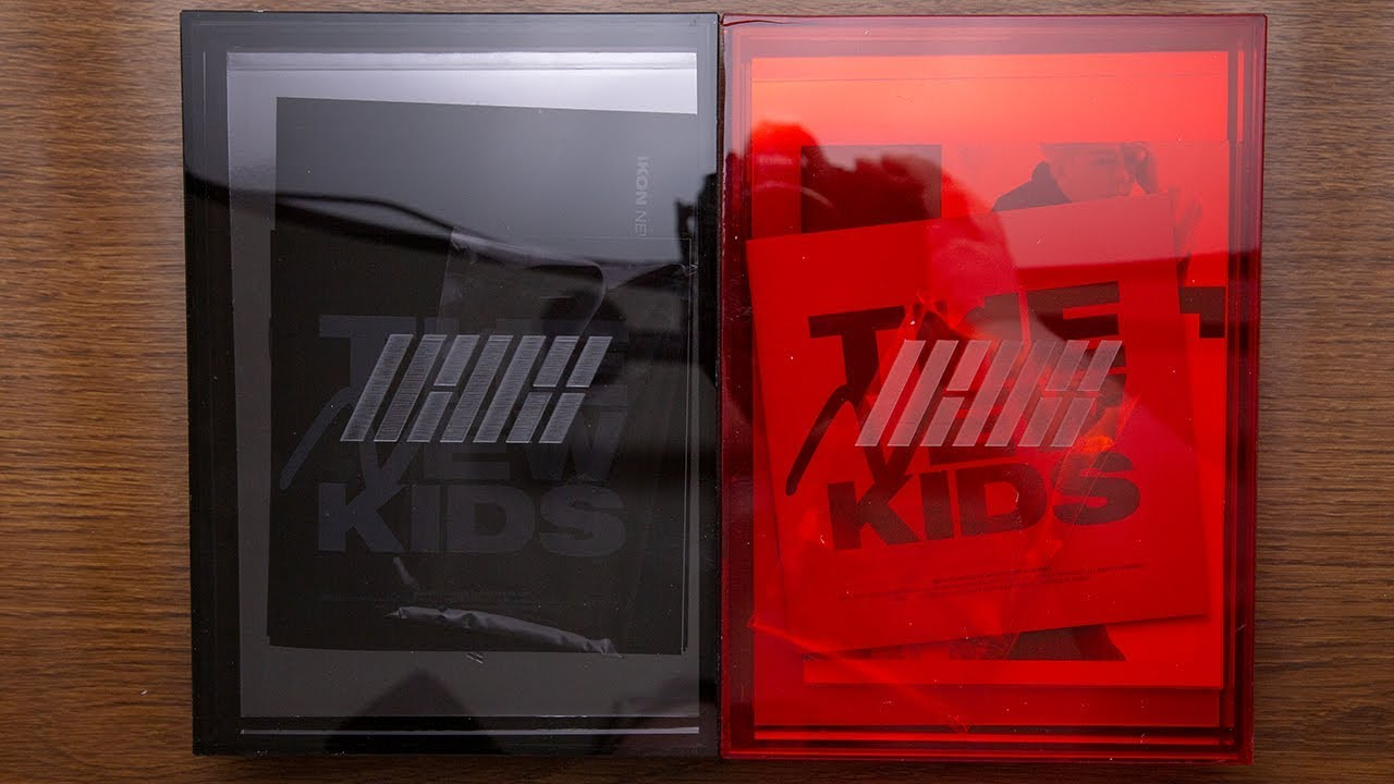 Unboxing | iKON - NEW KIDS REPACKAGE: THE NEW KIDS (Red + Black Version)