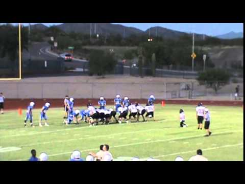 Solomon Enis #6 blocked extra kick