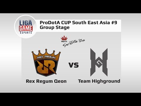 Dota 2: TP.NND vs RED Team @Pro Dota Cup SEA #9 Group Stage with R1