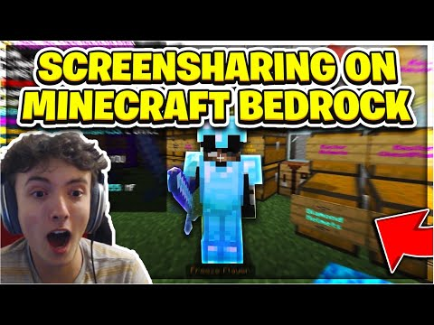 So, I Screenshared Cheaters on a Minecraft Bedrock Server *TOXIC*