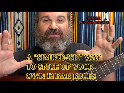 How To Add Originality To A 12 Bar Blues. Guitar Fundamentals. Take Advantage Of The Turnaround.