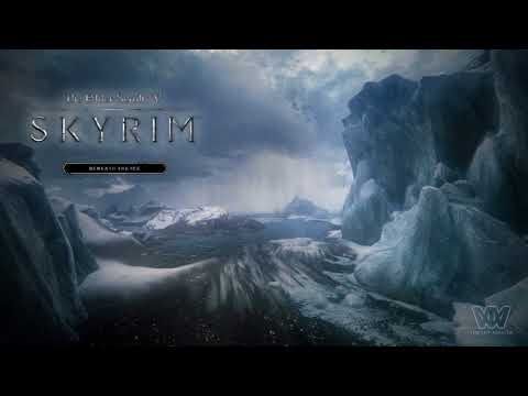 Skyrim OST - Beneath the Ice [Extended]