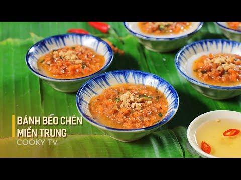 #CookyVN – Cách làm BÁNH BÈO CHÉN MIỀN TRUNG ngon tuyệt – Cooky TV