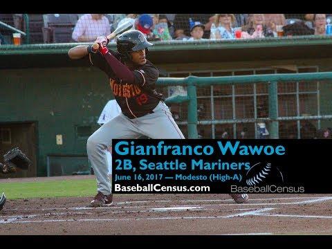 Gianfranco Wawoe, 2B, Seattle Mariners — June 16, 2017
