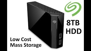 8TB Seagate Backup Plus Hub unboxing