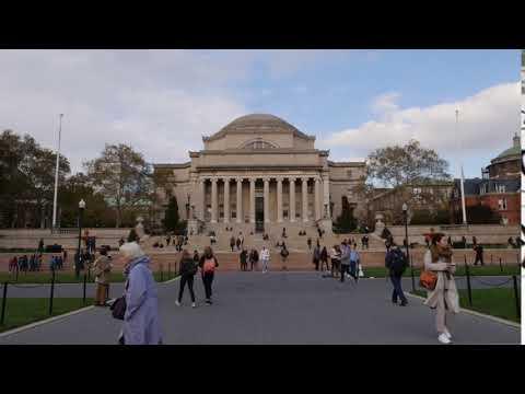 Columbia University Lowe Library Timelapse