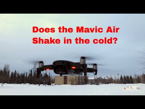 About the DJI Mavic Air cold weather problems
