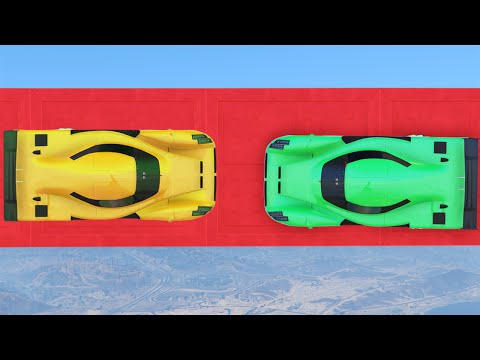 INSANE COLLISION AT 300MPH! (GTA 5 Funny Moments)