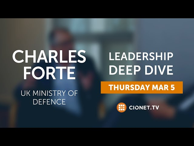 THU 3/03 – Charles Forte – UK Ministry Of Defence