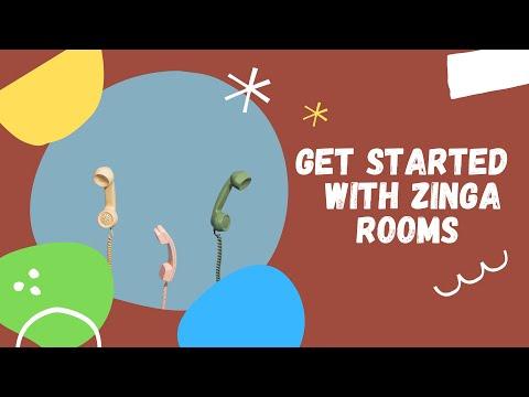 How to use Zinga Rooms