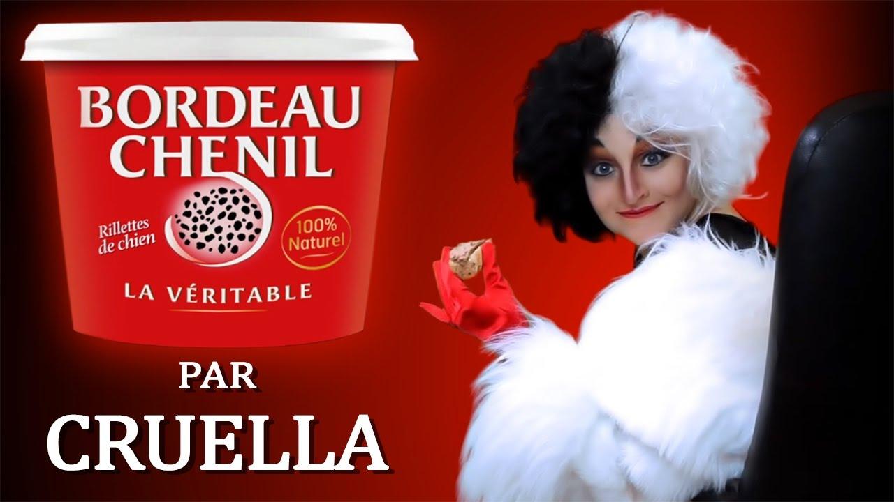 Bordeau Chenil - Rillettes de chiot Cruella / Parodie pub Bordeau Chesnel