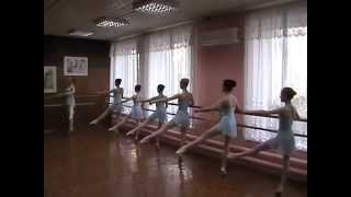 Экзамен по классическому танцу 5 класс