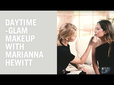 Rosie Huntington-Whiteley does Marianna Hewitt's makeup: a daytime glam look