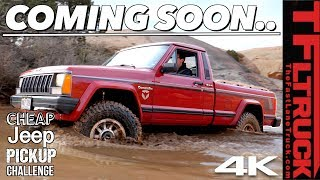 Here's Your Sneak Peek at The New Cheap Jeep Pickup Challenge | Season 2 Teaser