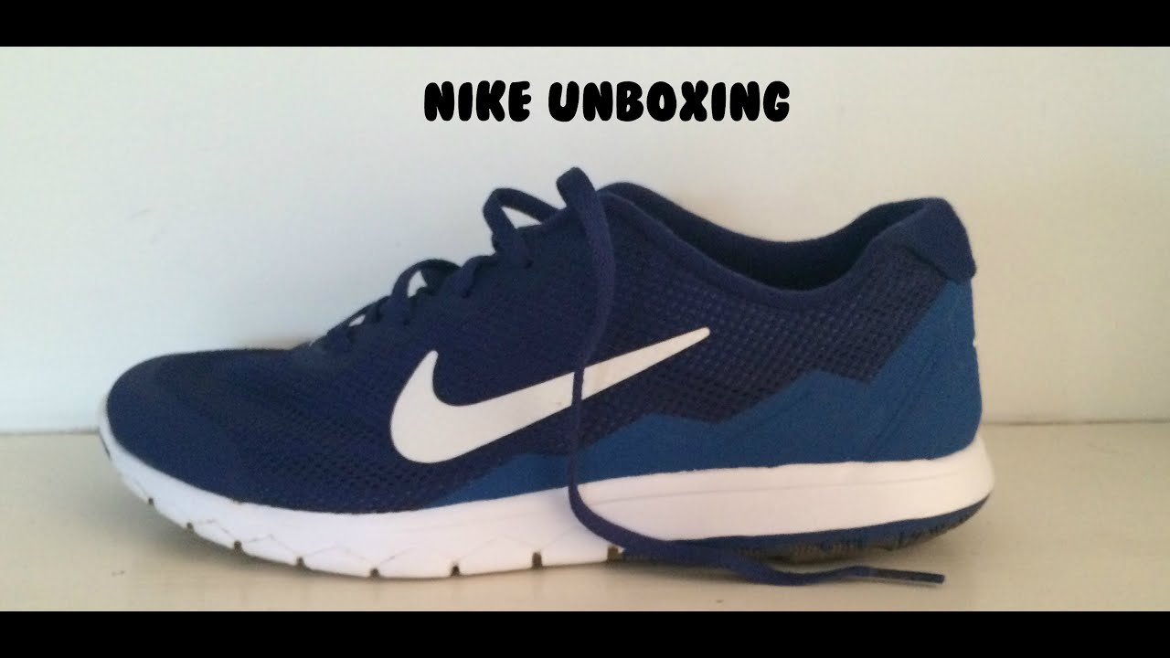 f267db43975 NIKE FLEX EXPERIENCE RN 4 - Unboxing - YouTube