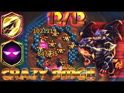 12/12 OP Demogorgon | 8 Zealous Drive | 7 Unholy Pact | GAMEPLAY | CASTLE CLASH