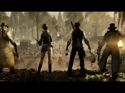 HUNT: Horrors of the Gilded Age - Crytek Announcement Trailer
