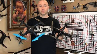 Half Chrome: Syma X5SW vs UDI Blue Jay U45W. Battle of the Beginner Drones