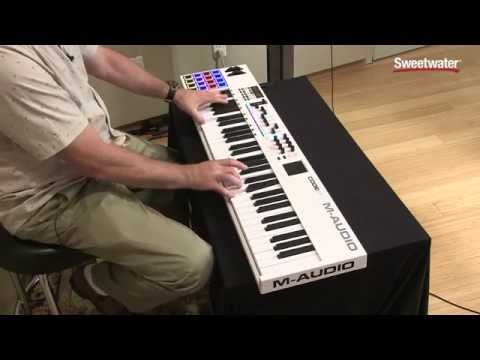 M-Audio Code-61 USB/MIDI Keyboard Controller Demo by Sweetwater