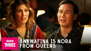 When Your Dad Goes Dating | Awkwafina Is Nora From Queens