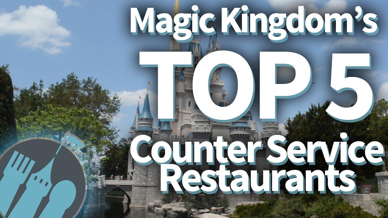 Magic Kingdoms Top Counter Service Restaurants YouTube - Magic kingdom table service restaurants